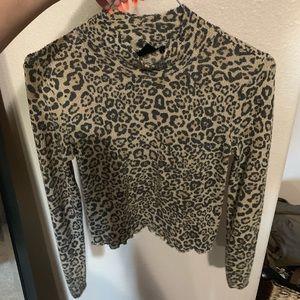 UO cheetah long sleeve
